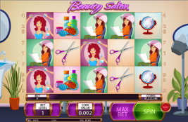 Play casino games such as Beauty Salon at WinADayCasino.com!