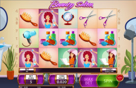 Play casino games such as Beauty Salon at WinADayCasino.eu!