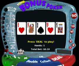 Play no download casino games such as Bonus Video Poker at WinADayCasino.eu!