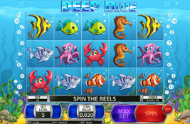 Play casino games such as Deep Blue at WinADayCasino.eu!