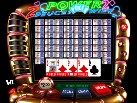 Play casino games such as Deuces Wild at WinADayCasino.eu!