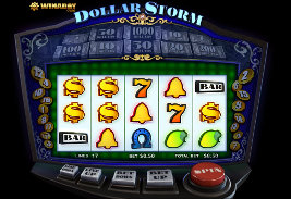 Play casino games such as Dollar Storm at WinADayCasino.eu!
