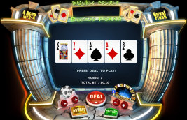 Play casino games such as Double Double Bonus Poker at WinADayCasino.eu!