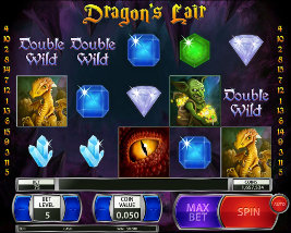 Play casino games such as Dragons Lair at WinADayCasino.eu!
