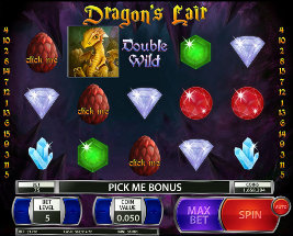 Play casino games such as Dragons' Lair at WinADayCasino.eu!