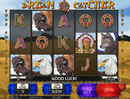 Play casino games such as Dream Catcher at WinADayCasino.eu!
