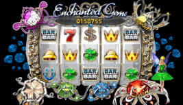 Play no download slot machine games such as Enchanted Gems at WinADayCasino.eu!