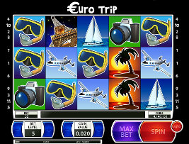 Play casino games such as Euro Trip at WinADayCasino.eu!