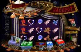 Play Fair Tycoon slot machine and other casino games at Win A Day Casino!