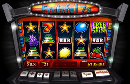Play no download casino games such as Fruitful 7s at WinADayCasino.eu!