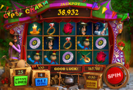 Play casino games such as Gypsy Charm at WinADayCasino.eu!