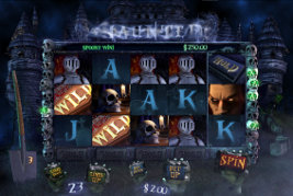 Play casino games such as Haunted at WinADayCasino.eu!