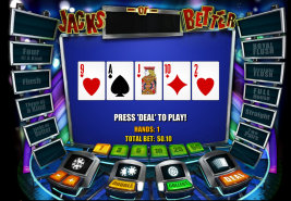 Play instant casino games such as Jacks or Better at WinADayCasino.eu!