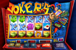 Play casino games such as Joker's Tricks at WinADayCasino.com!