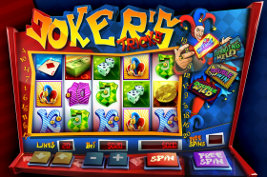 Play casino games such as Joker's Tricks at WinADayCasino.eu!