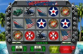 Play casino games such as Pacific Victory at WinADayCasino.eu!