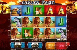 Play casino games such as Safari Park at WinADayCasino.eu!
