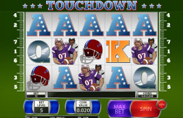 Play casino games such as Touchdown at WinADayCasino.eu!