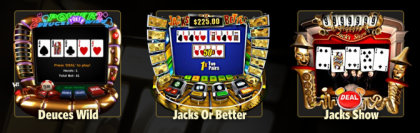 Play video poker casino games such at WinADayCasino.eu!