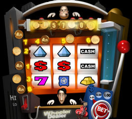 Play casino games such as Wheeler Dealer at WinADayCasino.eu!