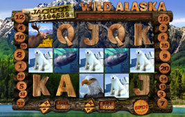 Play casino games such as Wild Alaska at WinADayCasino.com!