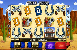 Play casino games such as Wild West at WinADayCasino.eu!